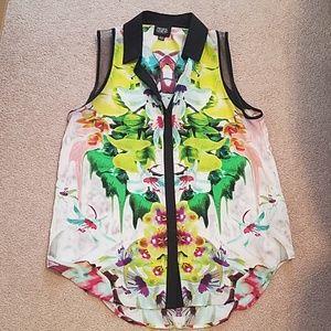 Prabal Gurung for Target sleeveless blouse